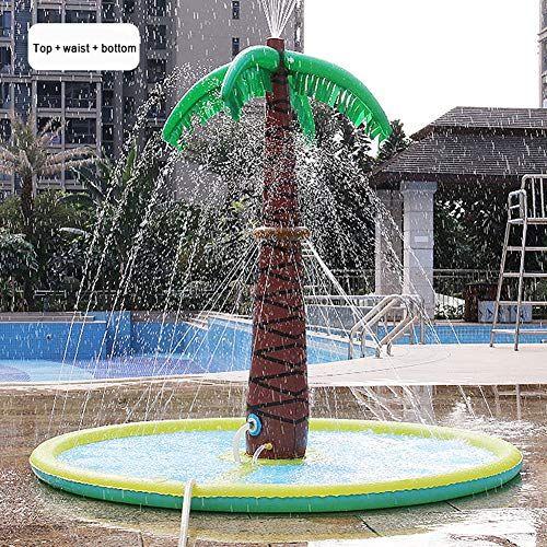 arbre de noix de coco de jet d eau