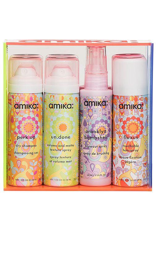 Pin By Spot Pop Fashion On Design Orange Amika Blowout Spray Spray Textures