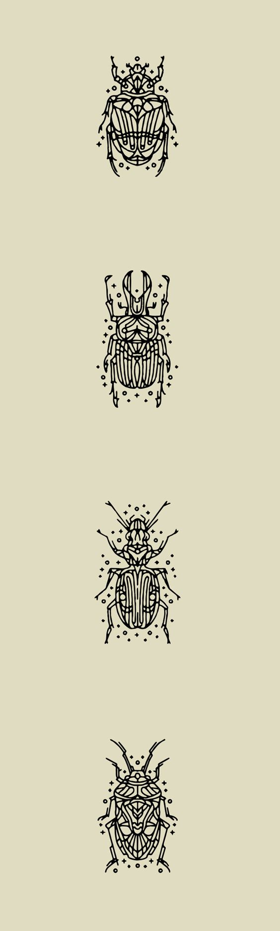 Beetle Tattoo's (small compilation) on Behance