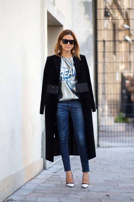 How to Wear the Duster Coat-Inspiration to wear a floor grazing coat - Harper's BAZAAR