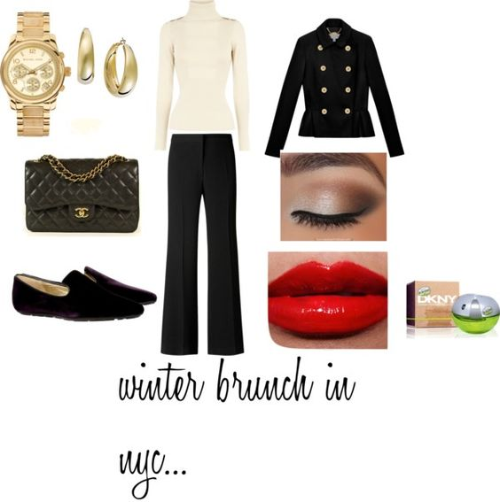 """winter brunch"" by leogrl on Polyvore"