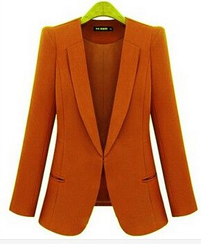 Slim Casaco Blazer Casual Coats