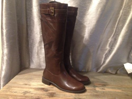Aerosols Water ride Knee High Side Zip BOOTS Size 6