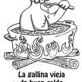FRIENDO Y COMIENDO: Spanish Saying