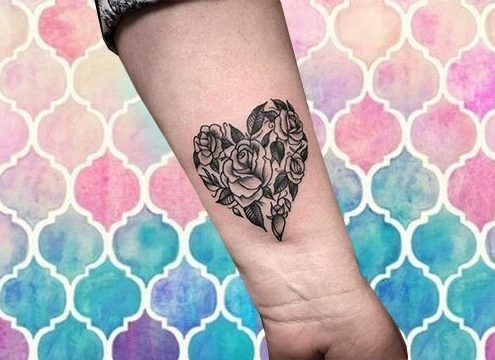 #tatuajes de #corazones:
