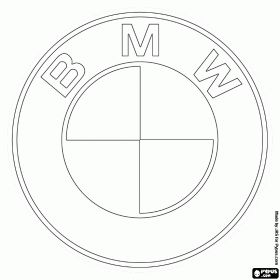 Logo German Car And More Logos Cars Coloring Bmw Pages