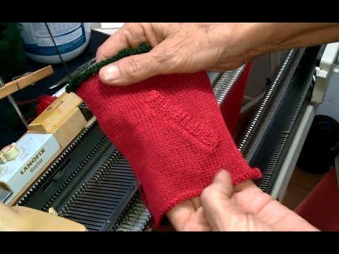 Bolso Faca Em Trico Com Maquina Trico Com Lanofix Youtube Machine Knitting Knitting Arm Warmers
