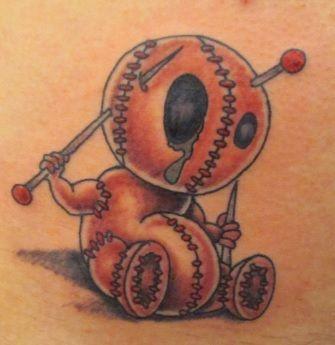 Voodoo Doll Tattoo