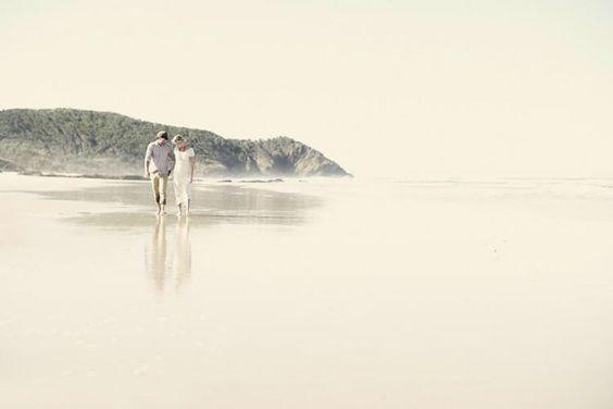 A Bohemian Love Shoot on theBeach -