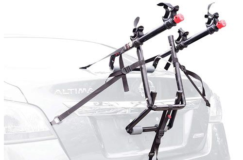 Allen Sports Deluxe 2 Bike Trunk Mount Rack For Car In 2020 Car Bike Rack Bike Car Racks