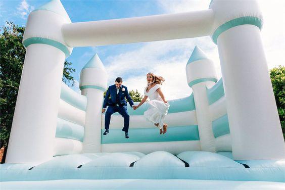 Ugrálóvárat az esküvőre? Igen!