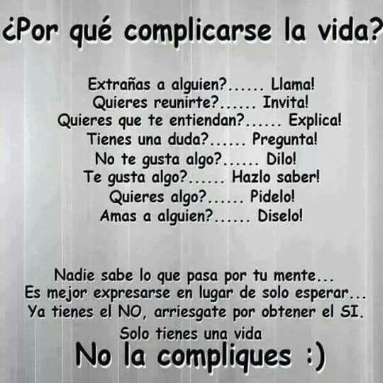 Sin complicaciones