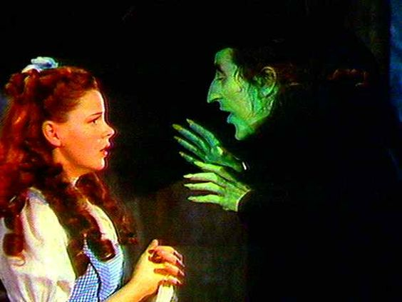Watching the annual tv broadcast of the Wizard of Oz.