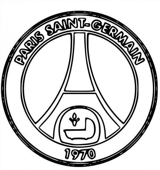 Coloriage Psg A Imprimer Paris Saint Psg Paris Saint Germain