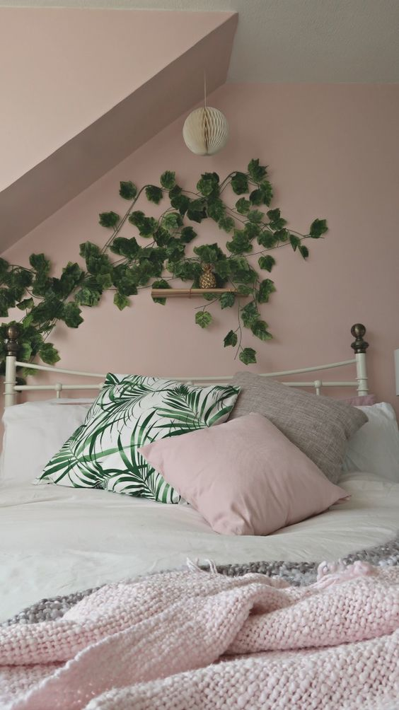 Best Bedroom Tour Our Blush Grey Copper Bedroom Write 400 x 300