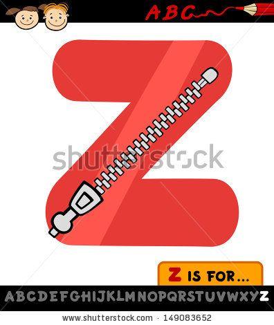 Z is for zipper