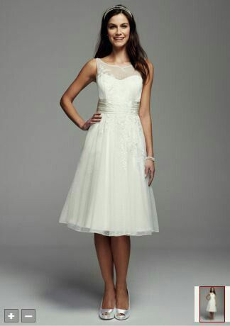 Great rehearsal dinner dress or beach wedding dress!