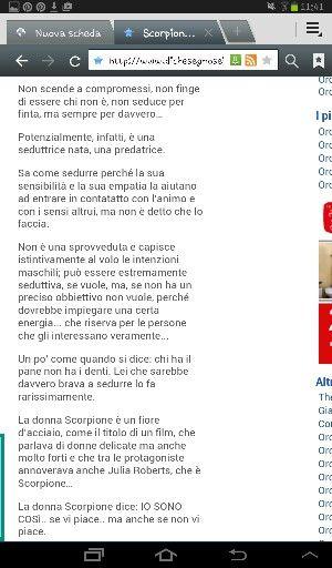Parte 3 (dal web) la donna Scorpione... io!!!