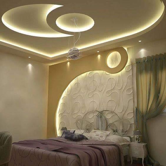 15 Inspiring Modern Bedroom Design Ideas Artcraftvila Bedroom False Ceiling Design Ceiling Design Bedroom Pop Ceiling Design