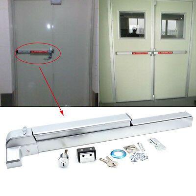 Sponsored Ebay 30 36 Single Door Door Push Bar Panic Safety Exit Device Lock Hardware Latches Single Doors Doors Ebay