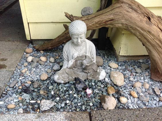 My new Buddha fountain.