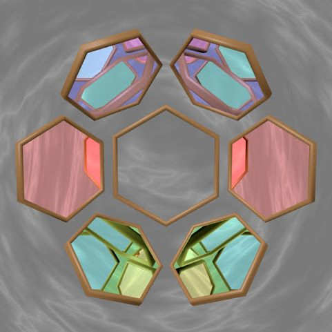 Hexagon Mirrors