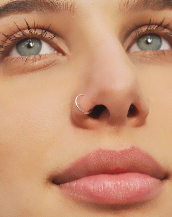 Piercing parois du nez