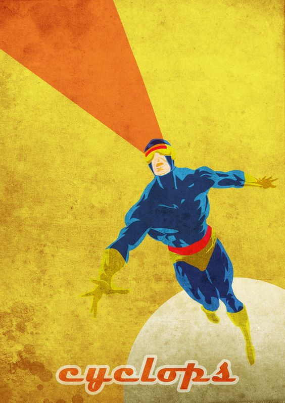 Marvel Comics Fan Art - VINTAGE by robert OBERT, via Behance