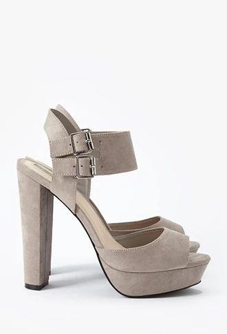 Platform Block Heel Sandals | Forever 21 #stepitup | forever 21 ...