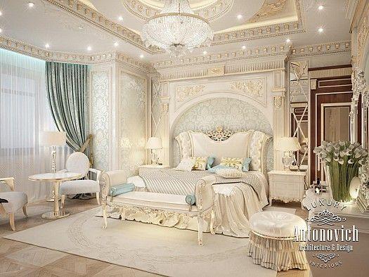 غرف نوم فخمه من انطونوفيتش Master Bedroom Interior Luxurious Bedrooms Luxury Bedroom Master