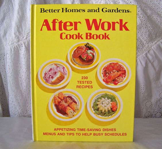 Vintage better homes and gardens cookbook gold souvenir Better homes amp gardens recipes