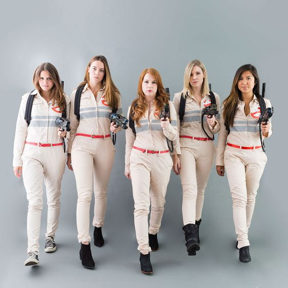 Yes, You Can DIY Your Own Ghostbuster Group Halloween Costume via Brit + Co