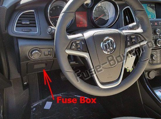 Buick Cascada 2016 2019 Fuse Box Location Buick Cascada Fuse Box Buick