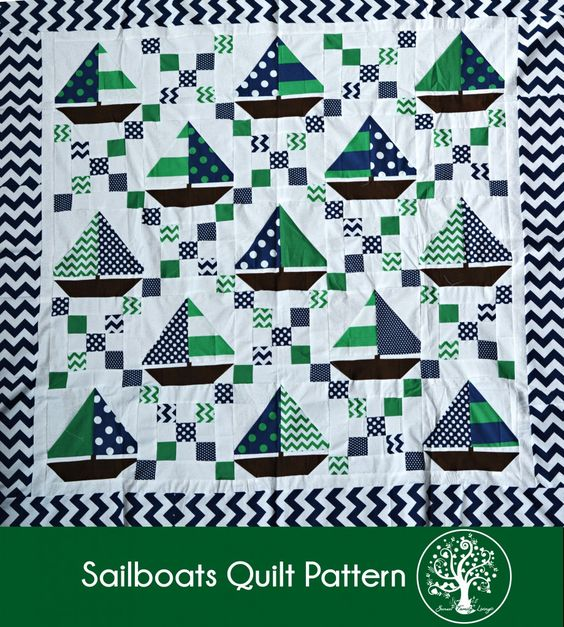 Free Lighthouse Quilt Block Patterns : sailboats quilt tutorial irish chain and sailboat blocks free pattern Sunset Family Living ...