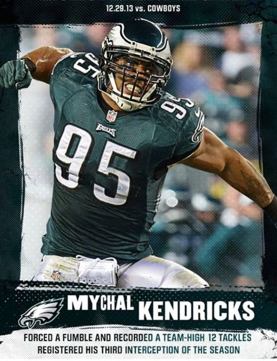 "Nike jerseys for wholesale - A #SNF football player of the game. Mychal ""Angry Bird"" Kendricks ..."