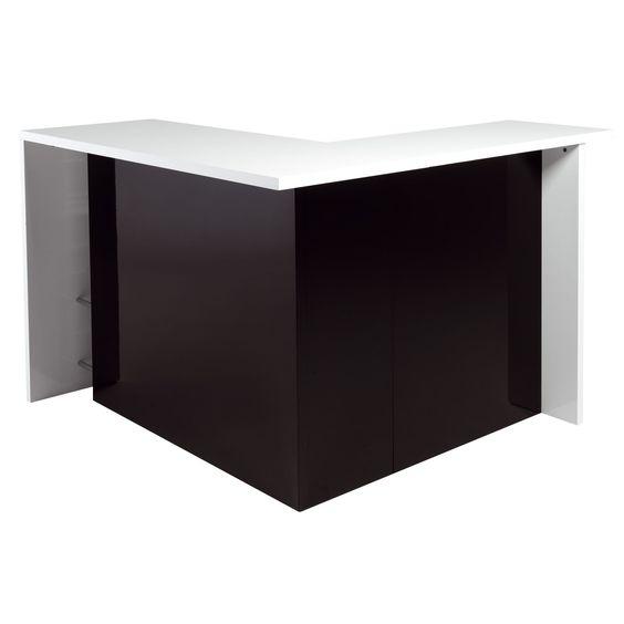 Bar angle alinea table de lit a roulettes for Acheter meuble bar