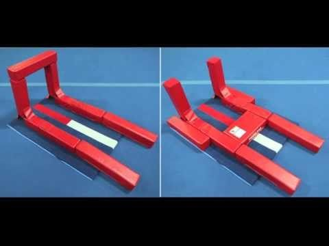 Check out our brand new product! The Hurdle Helper will be the answer to so many problems. It can help with hurdles, cartwheels, handstands, back handsprings, back tucks, and so much more! Watch the video to learn all about it.