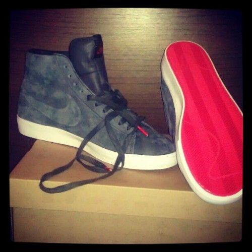 Louboutins / Nike Blazers