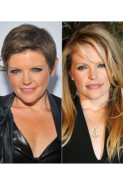 Dixie Chicks singer Natalie Maines shows off her close crop at the 2012 ASCAP POP Music Awards at Hollywood Renaissance Hotel on April 18, 2012 in Hollywood, California. Known for her long blonde hair, Natalie attends the launch of Alexander McQueen's boutique on May 13, 2008 in Los Angeles. http://insdr.co/rSRk7o