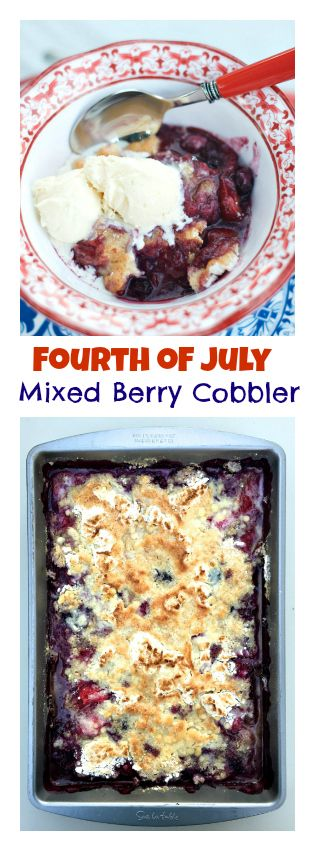 easy 4th of july poke cake