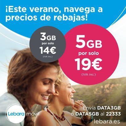 iBanana Distribuidor Oficial Lebara Cádiz ¡¡¡Navega más y paga menos con Lebara!!!
