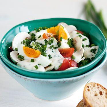 Frischer Eiersalat Rezept | Küchengötter