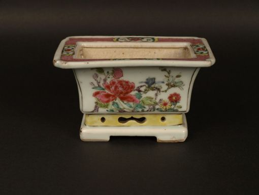 Chine, pot à crocus, 18ème siècle.