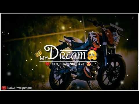 Ktm Duke Bike My Dream Ik Supna Hai Mera Black Screen