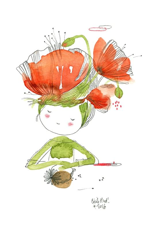 poppy doll, Cécile Hudrisier