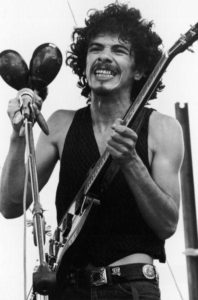 Carlos Santana at Woodstock we named our pup after him Carlos santana !!! little tiny rare dog with no hair