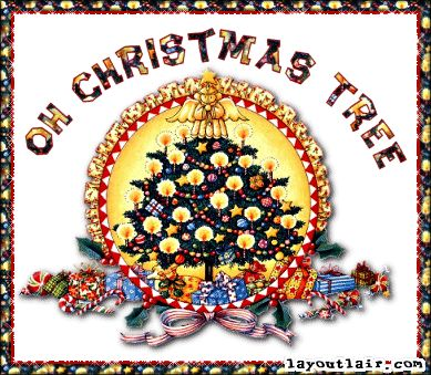 AllieKatzGraphics.com - Christmas Tree and Christmas Wreath Comments and Glitter Graphics for MySpace.