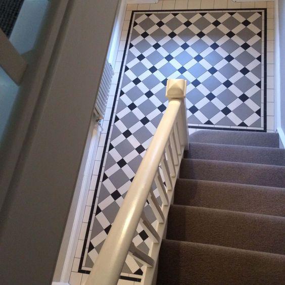 Alternative entry hall tiles?