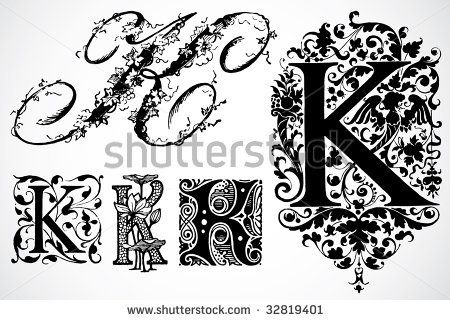 stock-vector-vector-letter-k-set-32819401.jpg (450×320)
