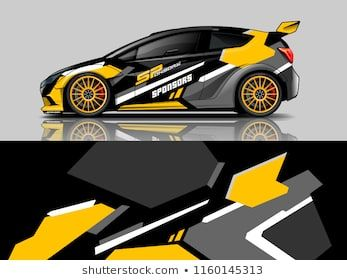 Car Wrap Graphic Racing Abstract Background For Wrap And Vinyl Sticker Car Sticker Design Car Wrap Car Wrap Design